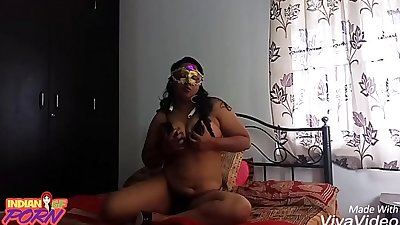 Chubby indian girlfriend teasing her boyfriend asking her to have sex