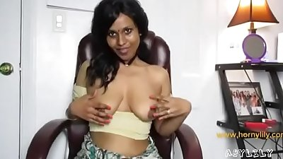 Amateur indian big ass girl lily horny