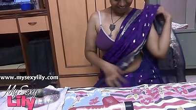 Big boob south indian babe lily mysexylily